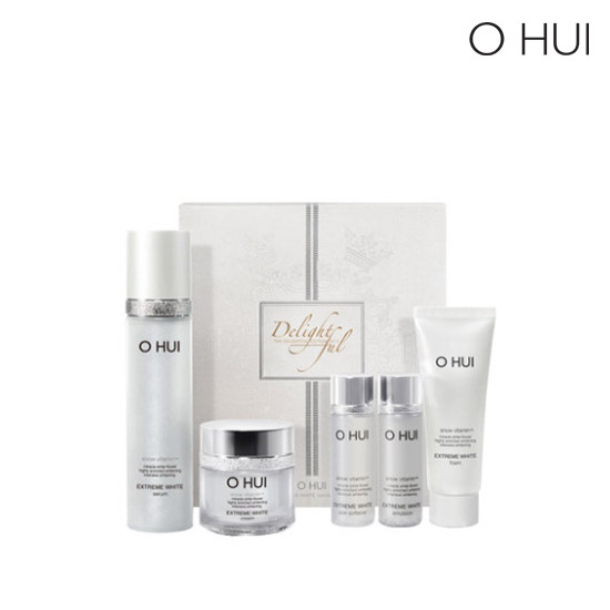 OHUI extreme white serum set - delightful edition