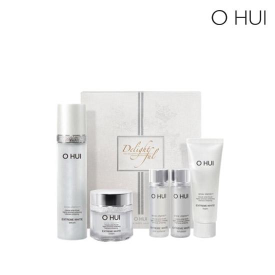 OHUI extreme white serum set - delightful edition