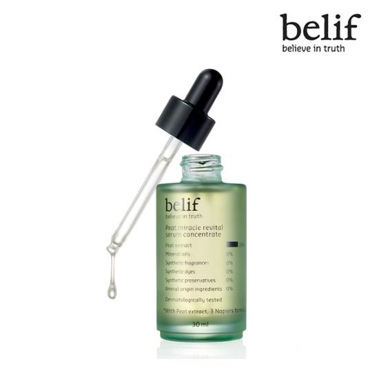 Belif Peat miracle revital serum concentrate