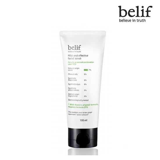 Belif Mild and effective facial scrub