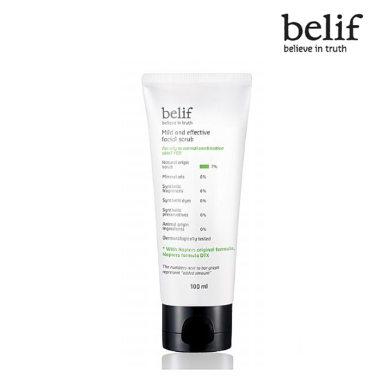 Belif Mild and effective facial scrub