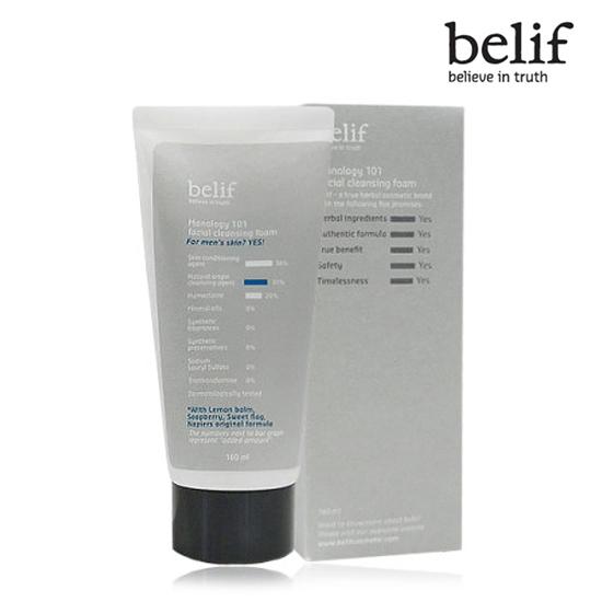 Belif Manology 101 facial cleansing foam