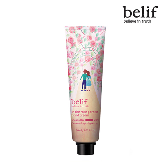 Belif In the rose garden hand cream