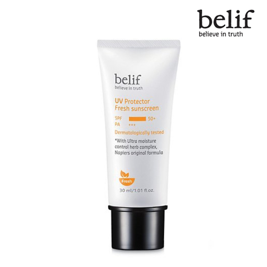 Belif UV Protector Fresh sunscreen