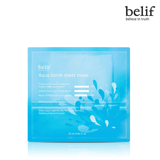 Belif Aqua bomb sheet mask