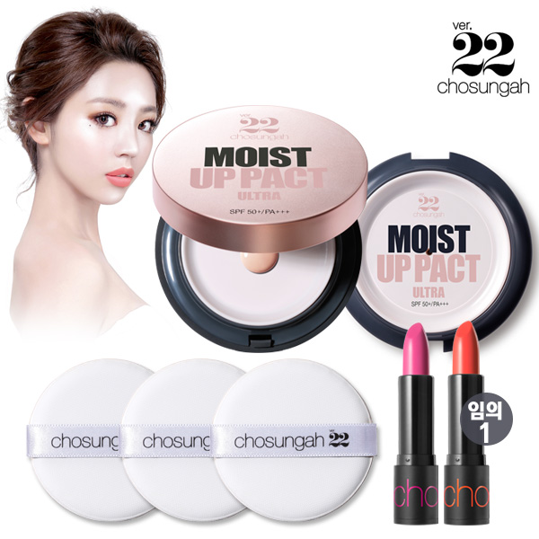 chosungah22 Moist up fact Ultra 200% + lipstick SET reward