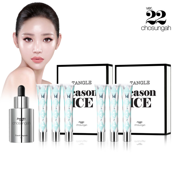 chosungah22 The ice Rectangle 600% SET + genuine ampoules presentation