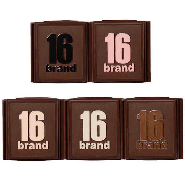 16brand Brick Shadow Kit SP choice of five kinds of 1