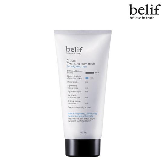 Belif Crystal cleansing foam Fresh