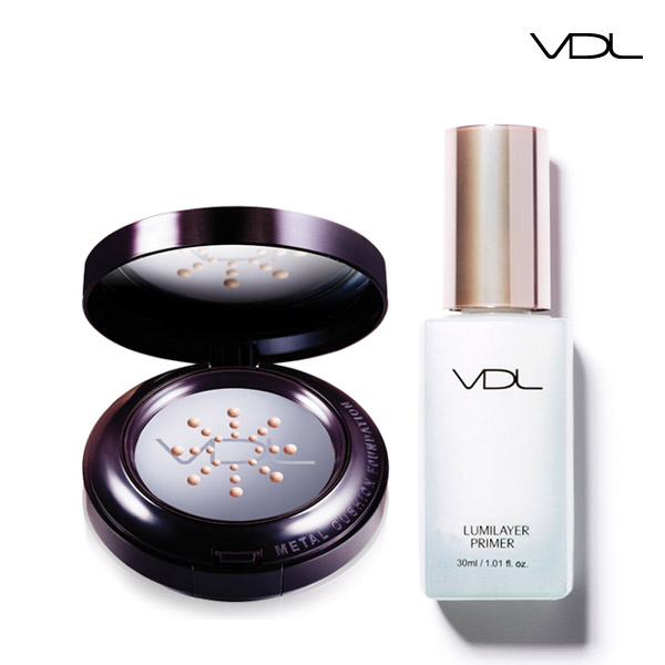 VDL Expert Metal Cushion Foundation & Lumi Layer Primer Special Set