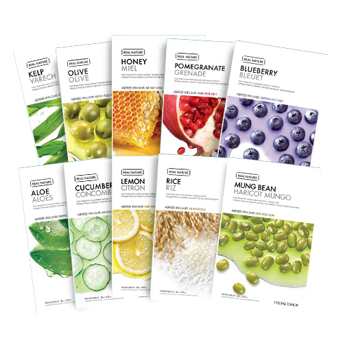 THEFACESHOP Mask Sheet made of ground