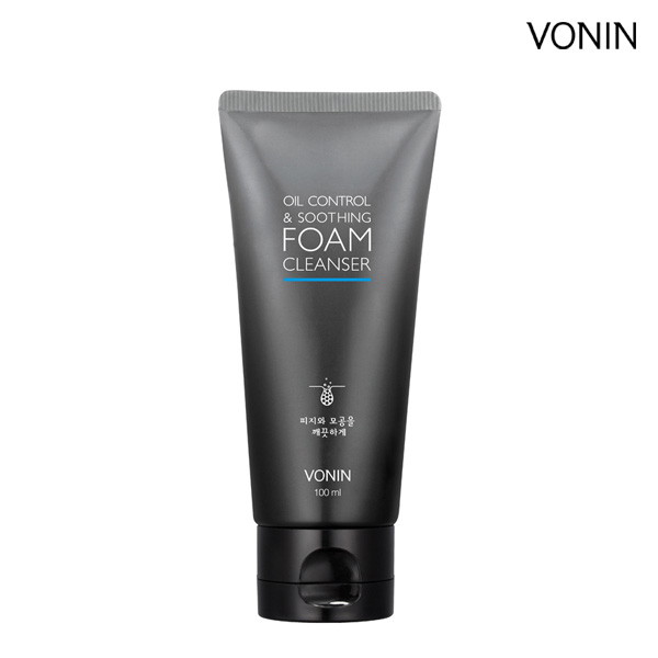 [LG Planning] VONIN Oil Control Soothing Foam 100ml
