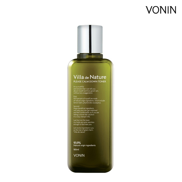 [LG Planning] VONIN Villa De Nature Kamdown Toner 180ml