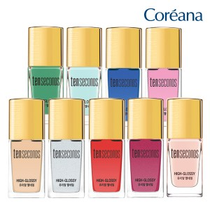 Coreana Tensecense Glossy Gel Nail Take 1