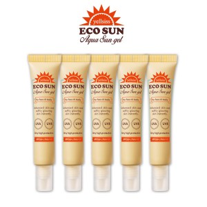 ★ ★ together with the whole family Elsie Eco Line AQUA sun gel 12ml x5Piece [Total 60ml]