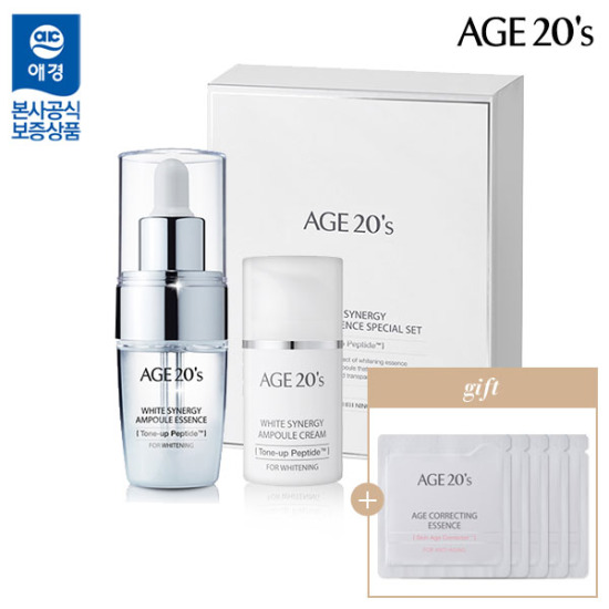 Age-Teenness White Synergy Ampoule Planning SET (essence + cream)