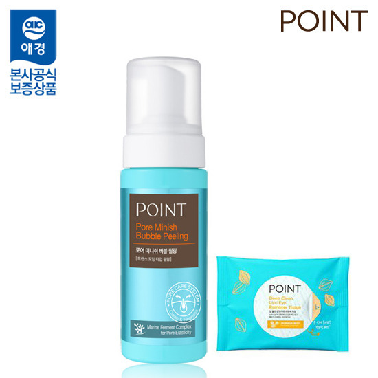 Point Pore Minish Bubble Peeling 150ml + cleansing tissue 30 sheets Additional gift