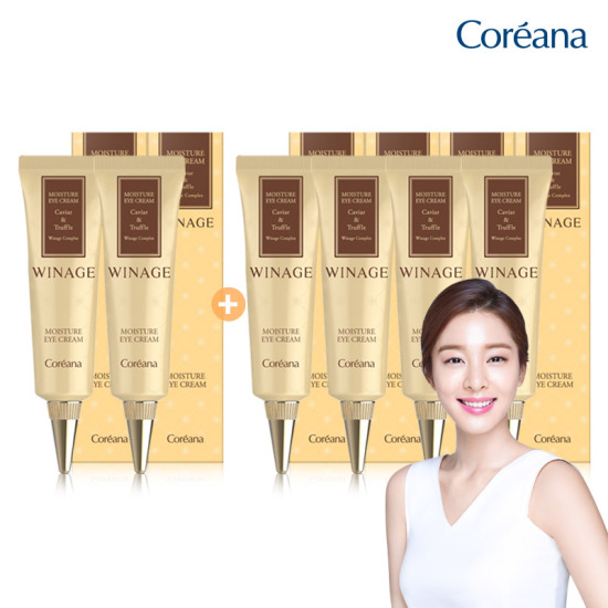 Coreana WINE MOISTURE Gold Eye Cream 30ml 2 + 4