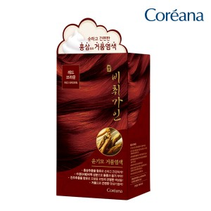 Coreana Jade dyed bubble dye (red brown)