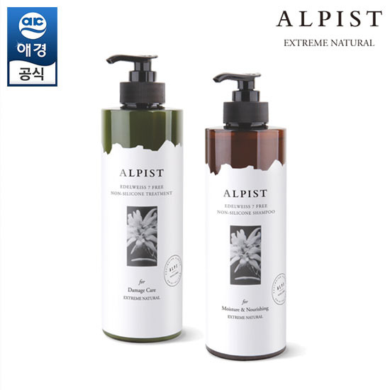 [Aekyung] Alfist Edelweiss Shampoo / Treatment 500ml