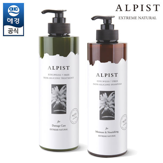 [Aekyung] Alfist Edelweiss Shampoo / Treatment 1000ml