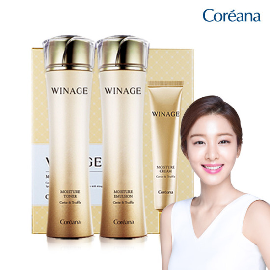 Coreana WINE MOISTURE 3-piece set