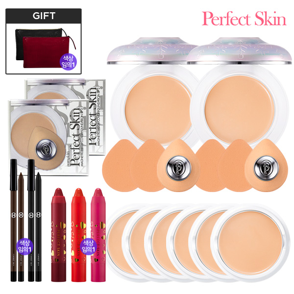 Perfect Skin Magnetic Mega Cover foundation 6 800% Package 21