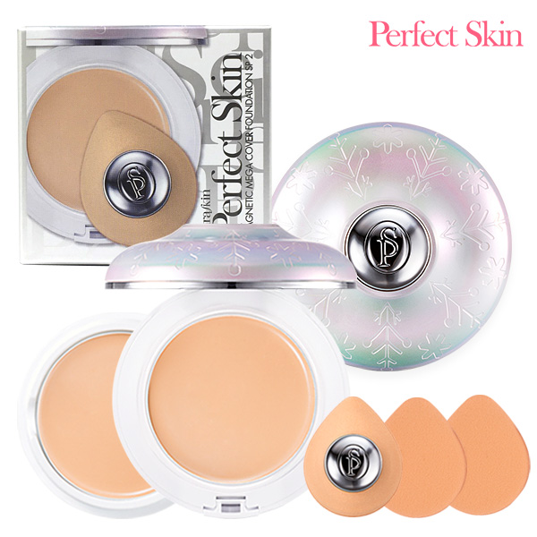 Perfect Skin Magnetic Mega Cover foundation6 package