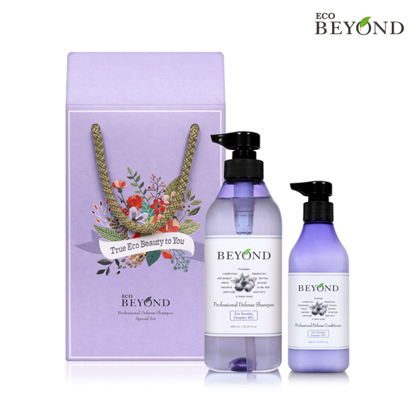 BEYOND Pro Defense Shampoo 600ml Set