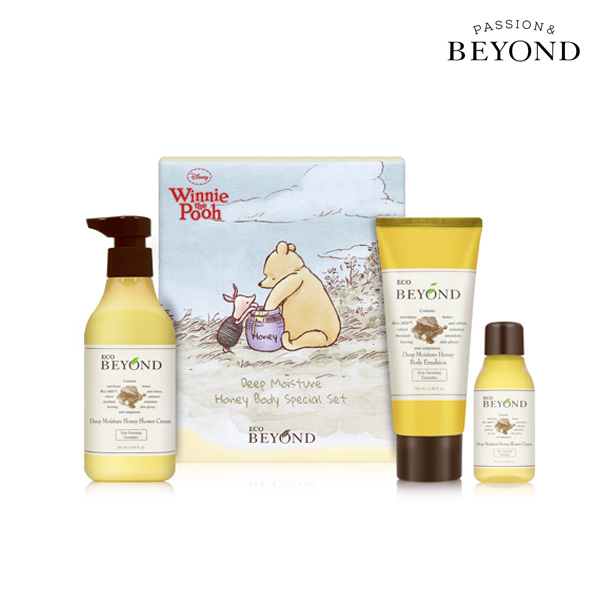 BEYOND Deep Moisture Honey Body Set