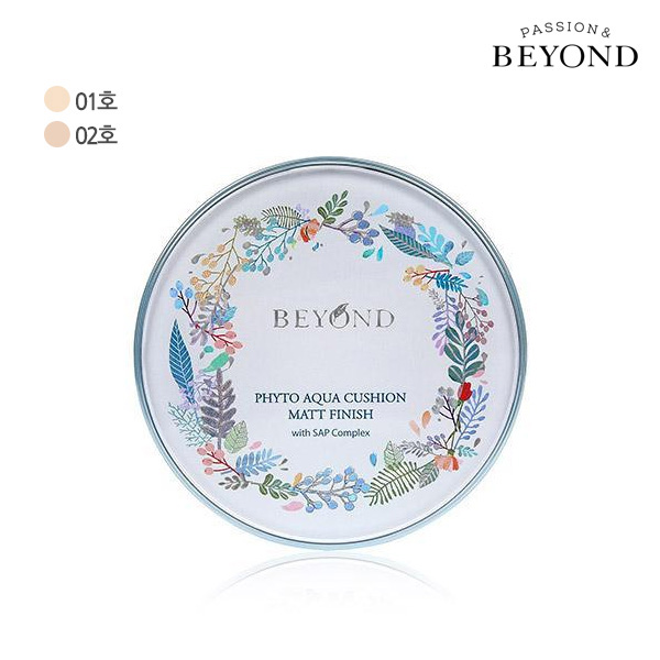 BEYOND Phyto AQUA cushion mat finish (choose1)
