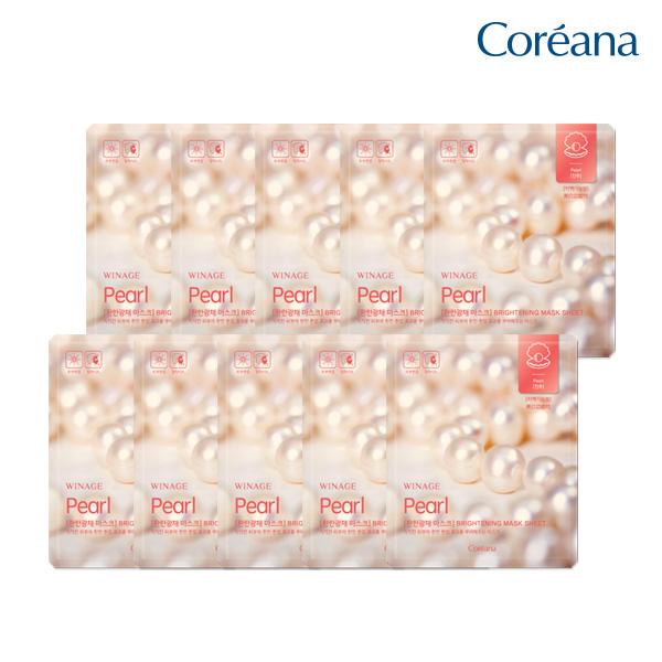 Coreana Wina Light Miracle Mask (10 pieces)