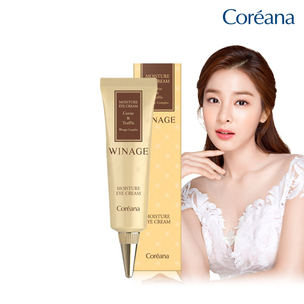 Coreana WINE Moisture Eye Cream (Gold)