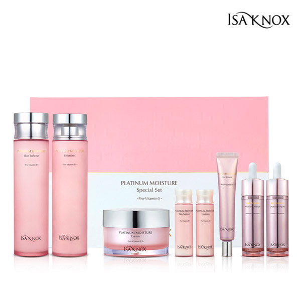 ISA KNOX Platinum Moisture foundation set