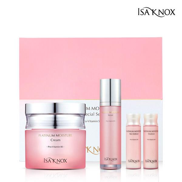 ISA KNOX Platinum Moisture cream planning set