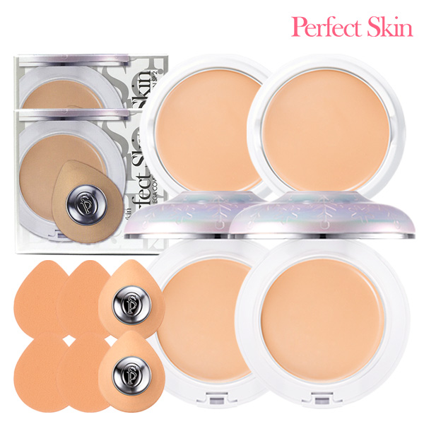 [1 + 1] PERFECT SKIN MAGNATIC MEGA Cover foundation6 No. 21/23 (package)