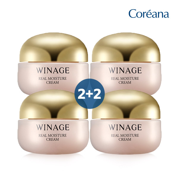 Coreana Wonderful Real Moisture Cream 2 + 2