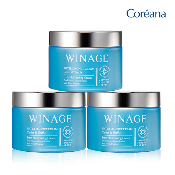Coreana large Moisture cream 100ml 2 + 1