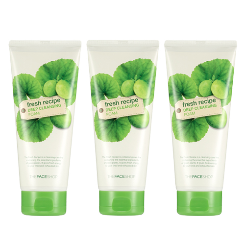[The Face Shop] Fresh Recipe Deep Cleansing Foam Special Set