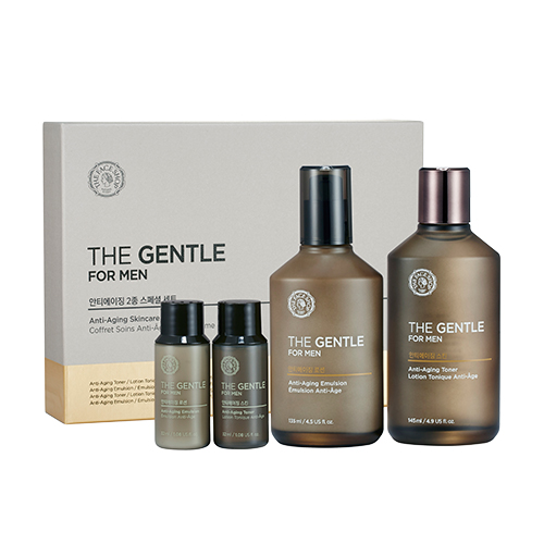 [The Face Shop] The Gentle Foam Anti Aging Set 2