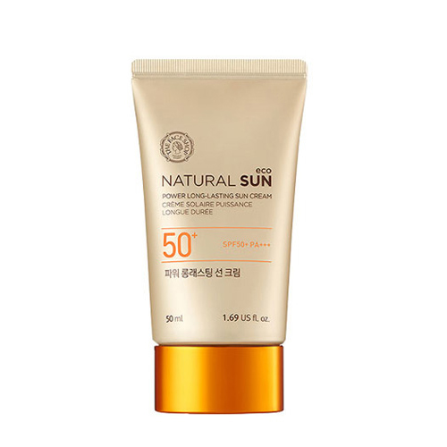 [The Face Shop] Natural Sun Echo Power Long Lasting Sun Cream SPF50 + PA +++