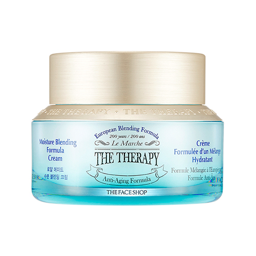 [The Face Shop] Holiday The Therapy royal make Moisture blending cream