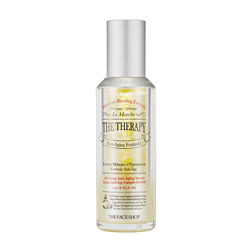 [The Face Shop] The Therapy Oil Drop Anti Aging Serum