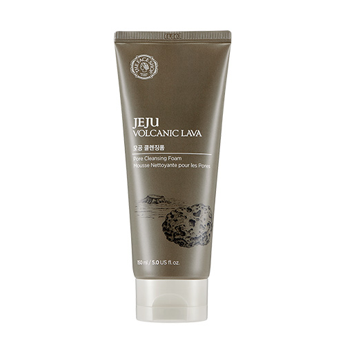 [The Face Shop] Jeju Volcanic Pores Cleansing Foam