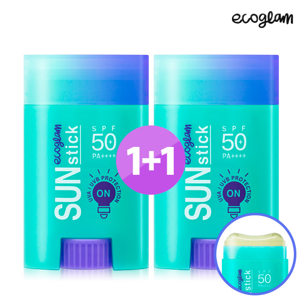 [Free Shipping] Skinjen Eco Glam Sun stick Plus20g 1 + 1