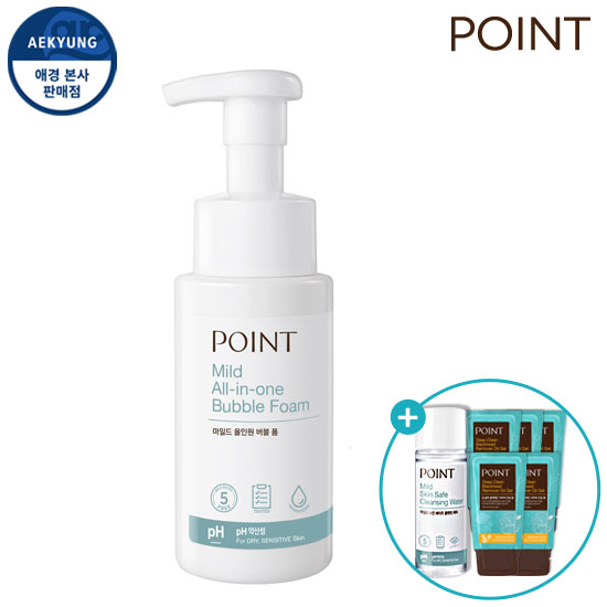 Point Mild All-in-One Bubble Foam 260ml