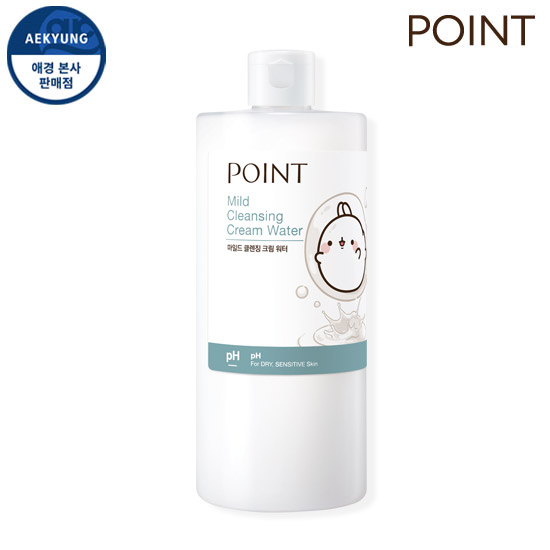 Point Mild Cleansing Cream Water 500ml