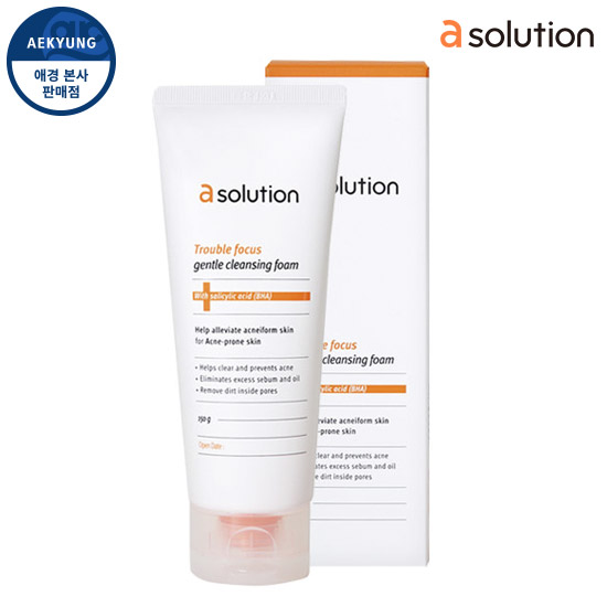 Asolution Trouble Focus Gentle Cleansing Foam 150g
