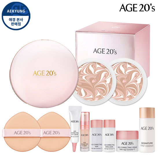 Age-Teenness Signature Essence Cover Fact Moisture