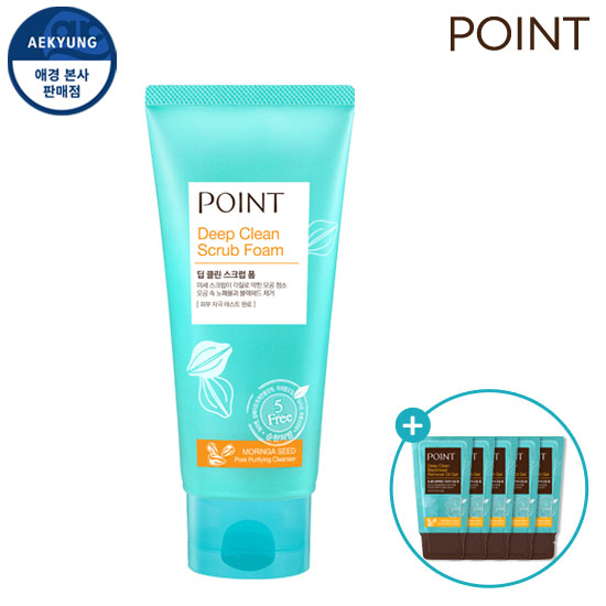 Point Deep CLEAN Scrub Foam 150g + Gift
